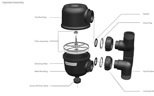 Filtration Graphic Design